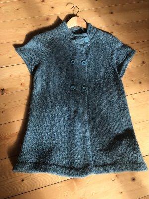 Vero Moda Short Sleeve Knitted Jacket khaki