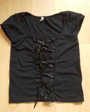Oroblu Frill Top black