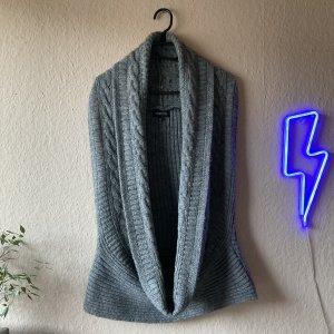 Vestino Cárdigan de manga corta gris pizarra-gris
