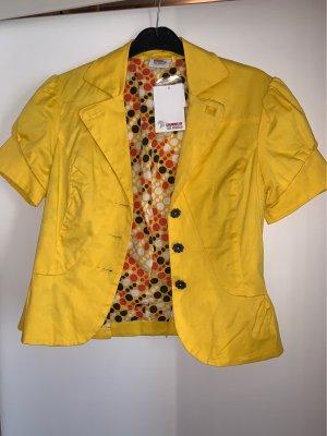 Colours of the World Korte blazer geel