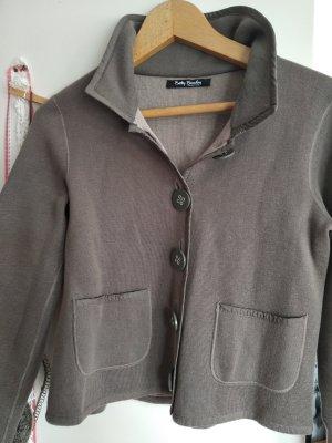 Betty Barclay Korte blazer grijs-bruin-oker