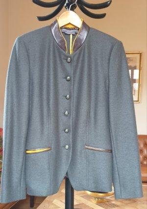 VON DÖRNBERG Blazer de lana gris-gris oscuro