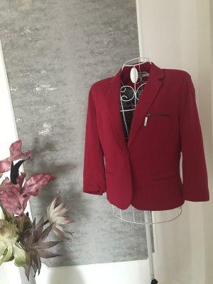 Garcia Blazer en jersey rouge fluo