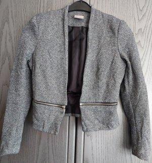 Vero Moda Korte blazer grijs