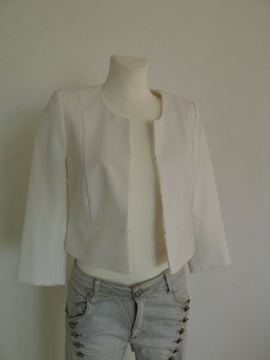 Tkmaxx Short Blazer natural white polyester