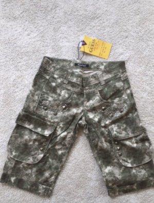 Kurze Army Cargo Hose mit Nieten