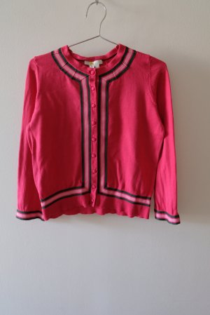Boden Knitted Cardigan pink cotton