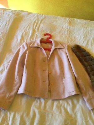 Apart Impressions Korte blazer lichtroze-roze Wol