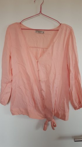 Pull & Bear Slip-over Blouse pink