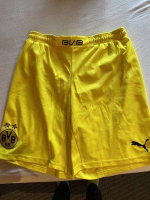 Shorts amarillo-negro