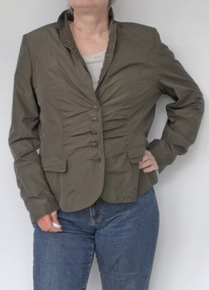 kurze Damen Jacke in dunkeloliv, Bette Barklay, Gr. 48