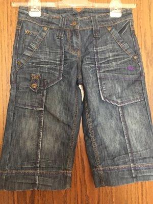 AS98 Denim Shorts blue