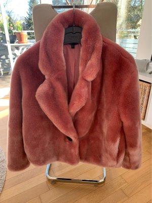 Zara Giacca in eco pelliccia multicolore