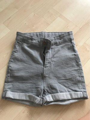 Kurze Graue jeans