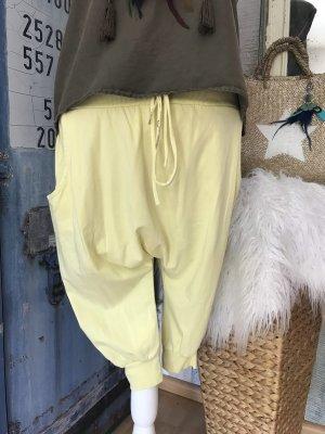 Kurze Haremshose Beachtime Yellow Style