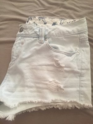 Kurze hell Blaue Shorts