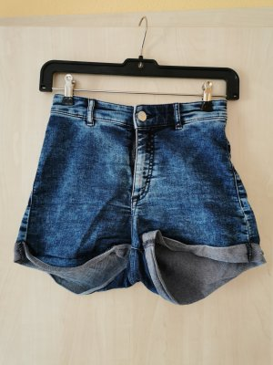 H&M Divided Pantalón corto de talle alto multicolor