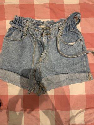 Kurze highwaist jeans