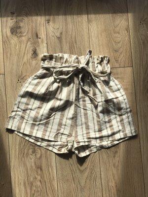 Hailys High-Waist-Shorts cream-beige