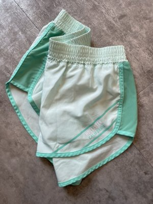 Hollister Sport Shorts turquoise-baby blue