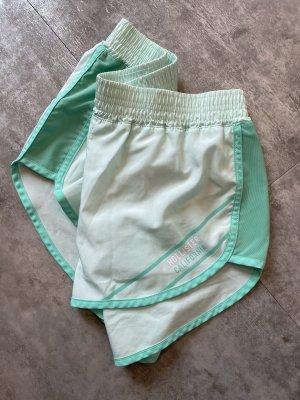 Hollister Short de sport turquoise-bleu clair
