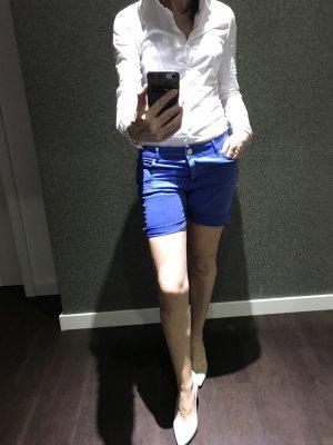 Hallhuber Shorts neon blue