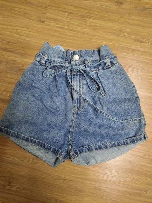 C&A Clockhouse Pantaloncino di jeans blu pallido-azzurro