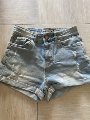 Hot pants lichtblauw
