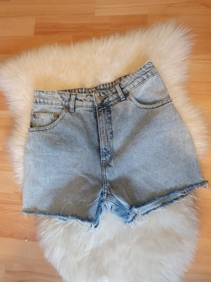 Cheap Monday Jeansowe szorty błękitny