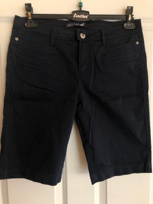 Street One Shorts azul oscuro