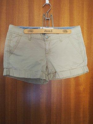 Aeropostale Hot Pants beige cotton