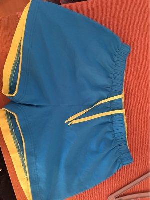 Crane Baggy Pants yellow-blue