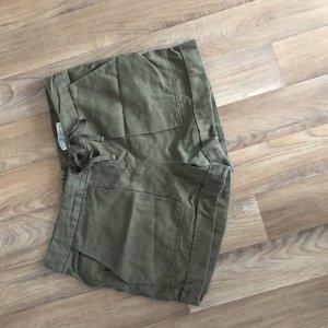 Zara Trafaluc Spodnie khaki Wielokolorowy