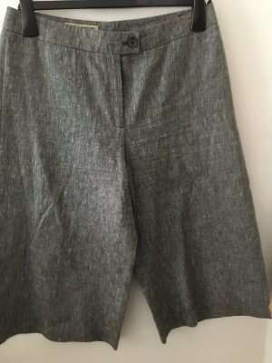 Ann LLewellyn 7/8 Length Trousers anthracite-white linen