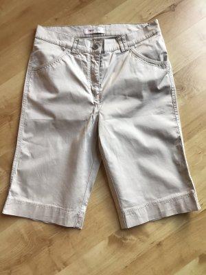 Toni Dress Pantalón corto de talle alto crema-beige