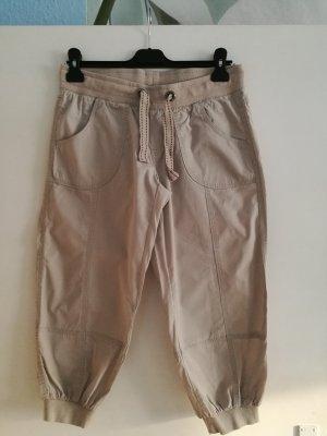 Takko Fashion Pantalon capri multicolore coton