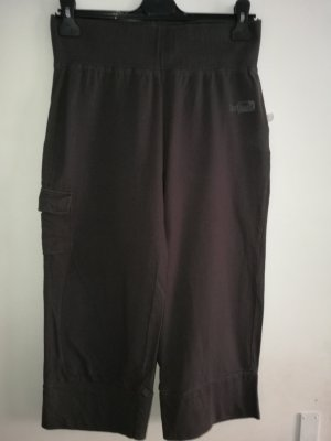 Pantalon capri multicolore coton