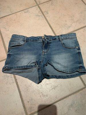 Pimkie Pantalón corto de tela vaquera azul