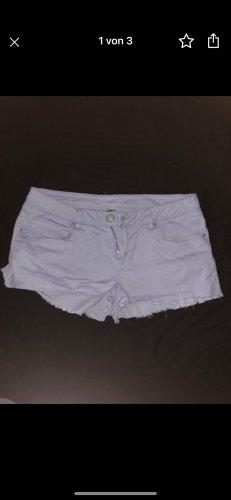 H&M Pantalón corto azul celeste