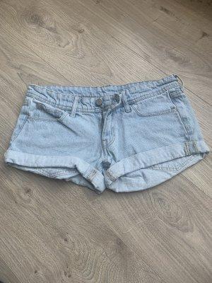 H&M Short en jean bleu azur