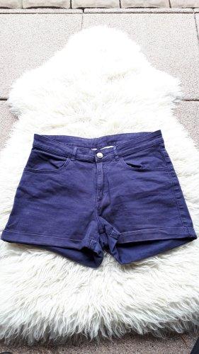 Kurze Hose in blau Hotpans