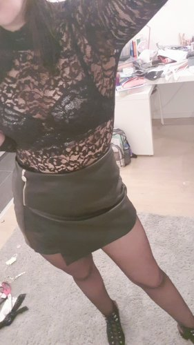 Zara Gonna culotte nero