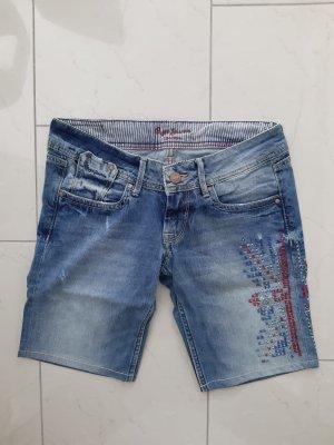 Pepe Jeans London Pantalón corto de tela vaquera multicolor Algodón