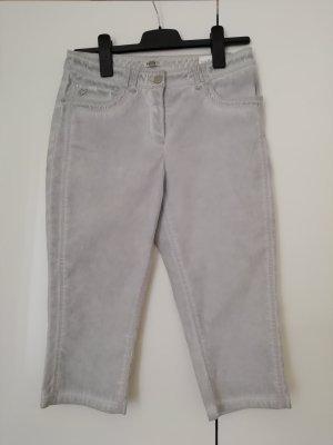 Peckott Pantalon 3/4 gris clair
