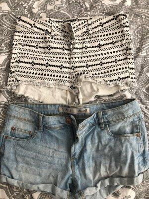 H&M Denim Shorts multicolored