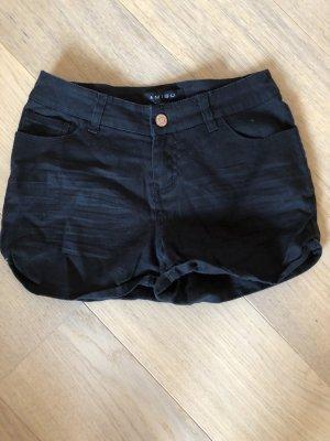 Kurze Hose Shorts Hotpants schwarz Basic