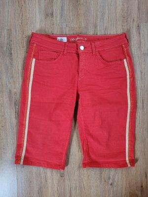 Kurze Hose Shorts rot Streifen Street One