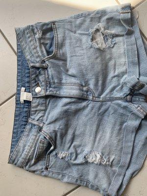 H&M Short en jean bleu clair