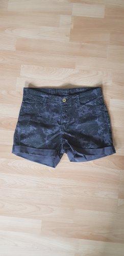 Vero Moda Pantaloncino di jeans viola-grigio Cotone