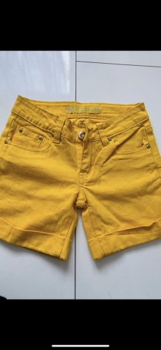 Goodies Denim Shorts yellow